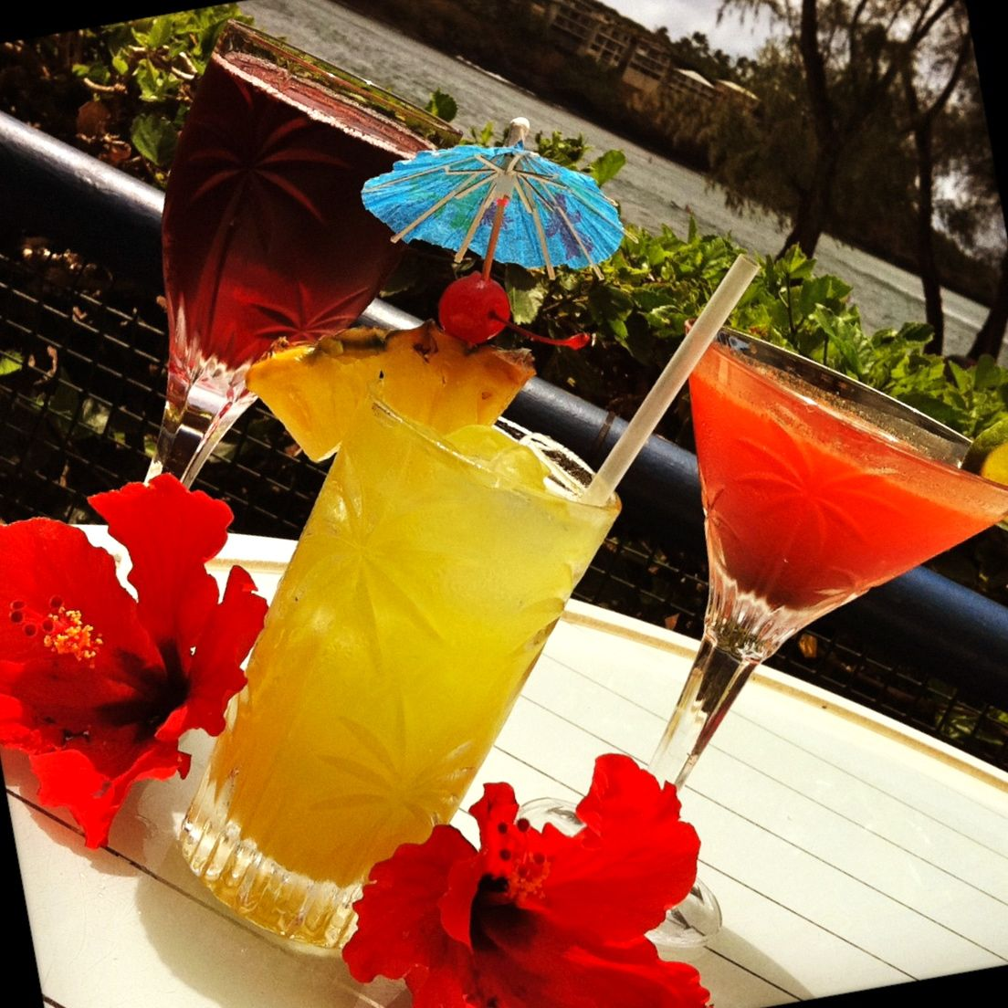 Cocktails Anyone ?  #JJ's Broiler  #Beach  #Summer
