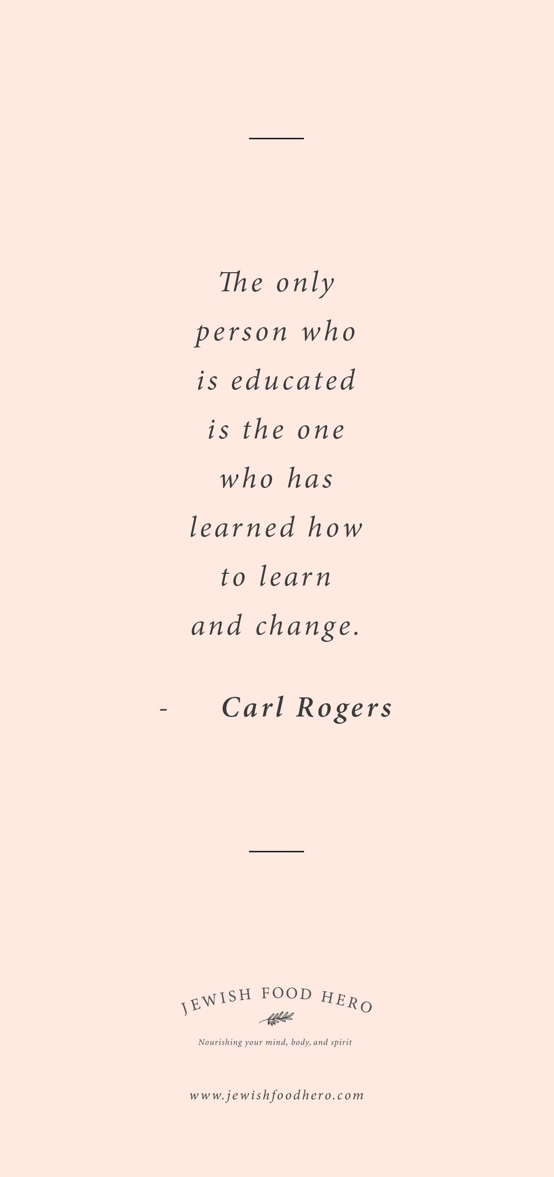 Jewish Quotes On Life Carl Rogers Quotation  From Jewish Food Hero  Pinterest  Carl