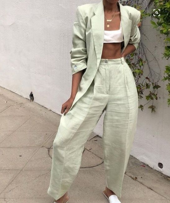 Trending: Mint Green Co-ord -   18 sage green aesthetic fashion ideas
