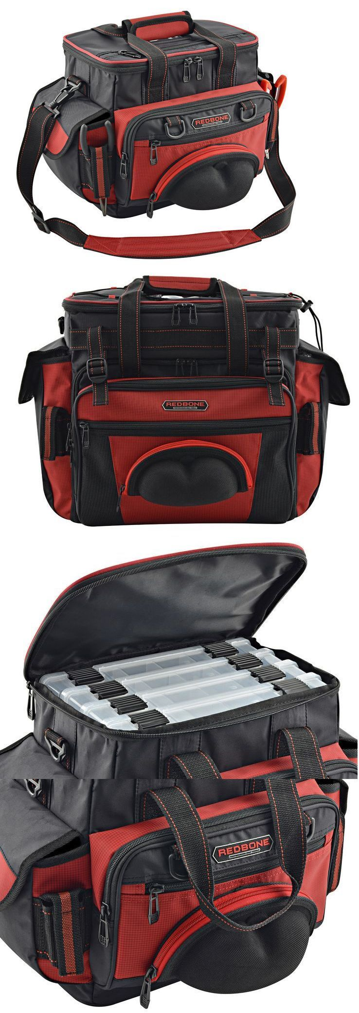 HQ Fishing Bag Hard Case Tackle Carry Storage Box Rod Reel Gear Soft Hunting