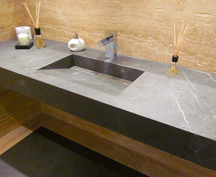 Dingerstone Naturstein Produkte Waschtisch Natursteine Badezimmer Innenausstattung