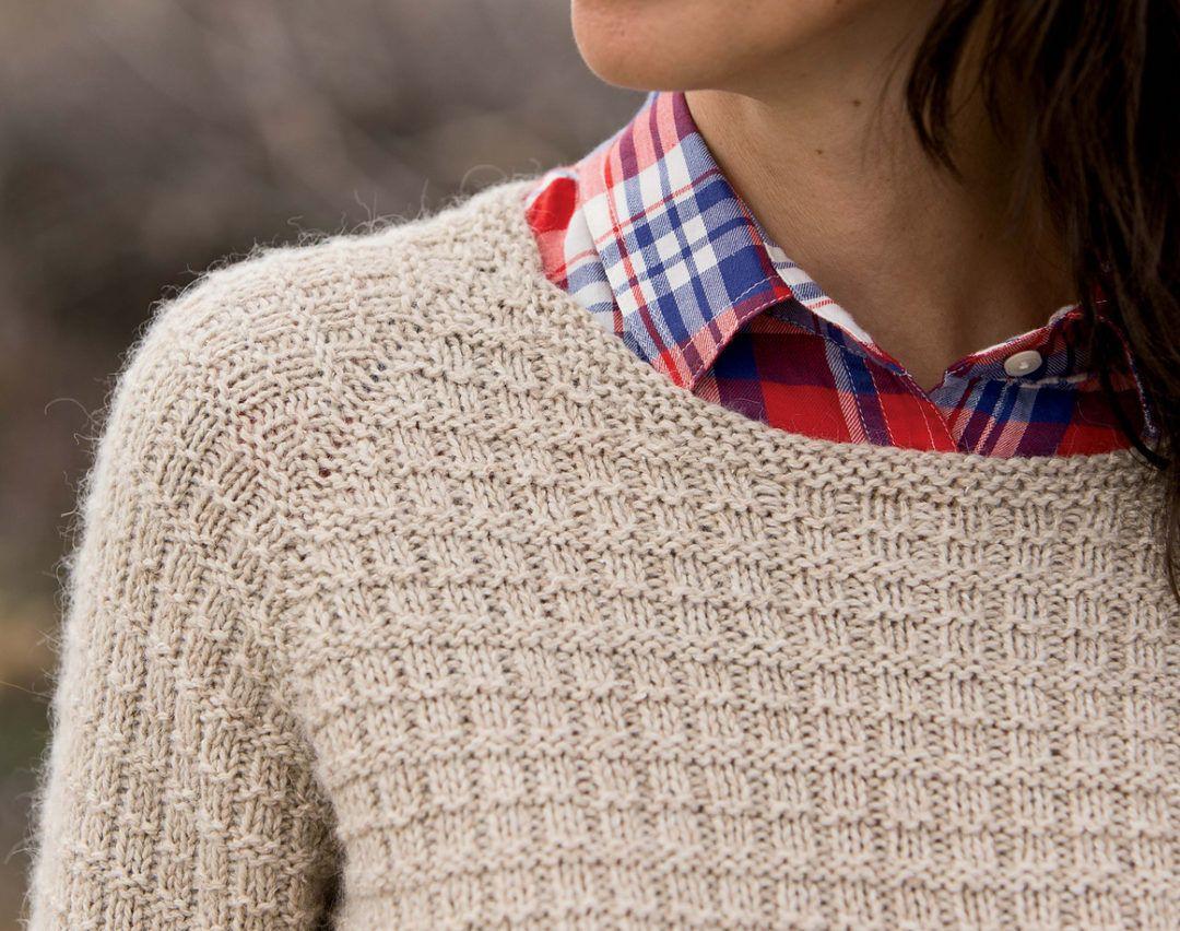 063ebe598f07 Knitting Pattern for Winnipeg Pullover