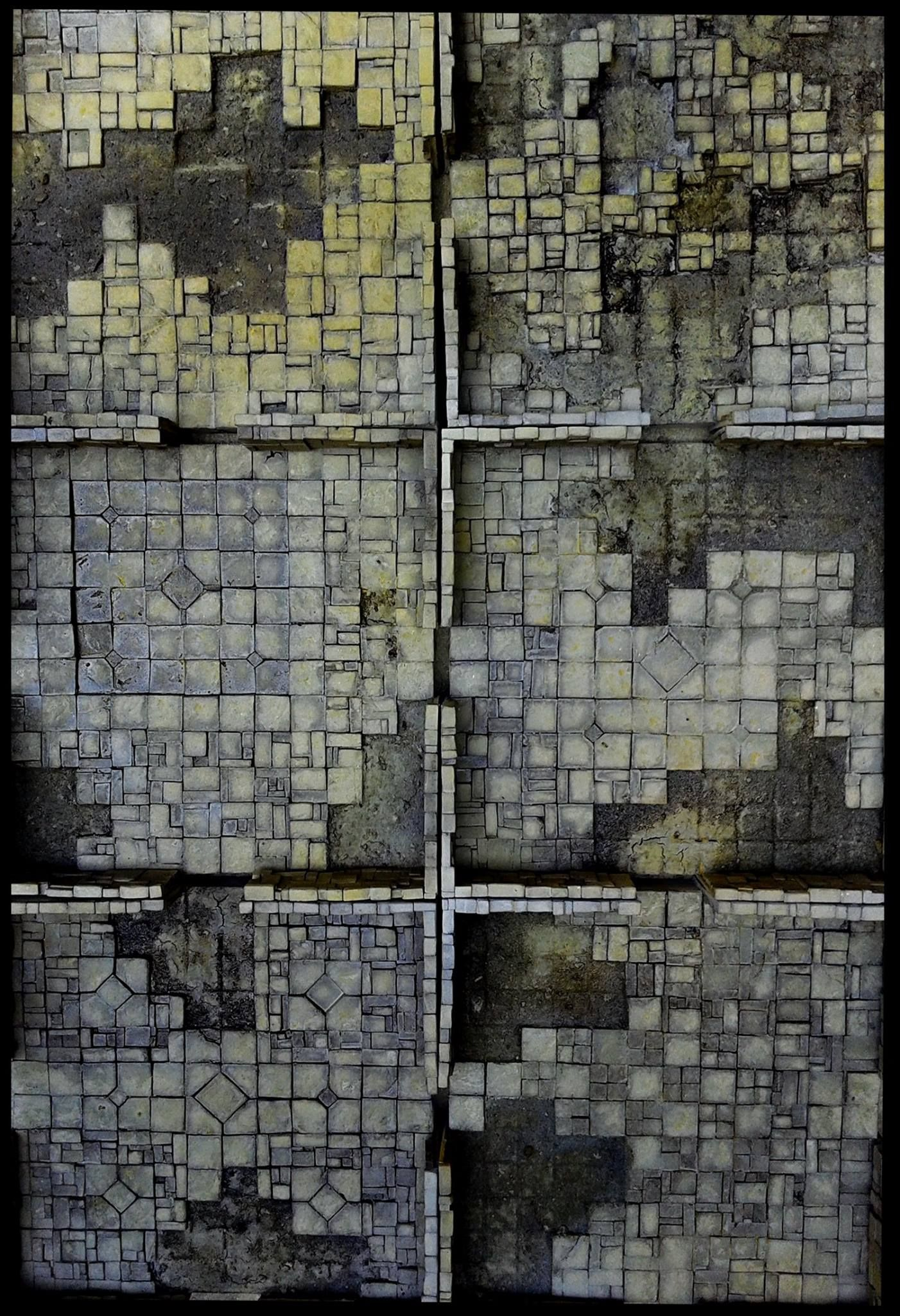 Missing Tiles Are A Great Idea For Dungeon Room Floors These Are By Krieg Kraft Who Really
