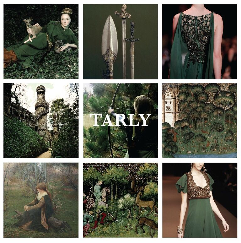 House Tarly, Lords of Horn Hill, First in Battle Tarly is