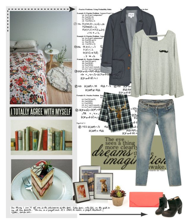 """Mart / 14"" by majalop ❤ liked on Polyvore featuring moda, John Lewis, Steven Alan, A.P.C., Balmain, Saks Fifth Avenue, Crate and Barrel, Distinctive Designs y Garance Doré"