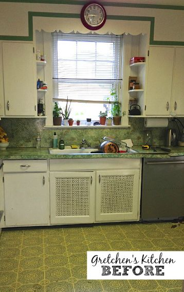 An Old Kitchen Gets a New Look for Less Than $1,500 | Pinterest ...