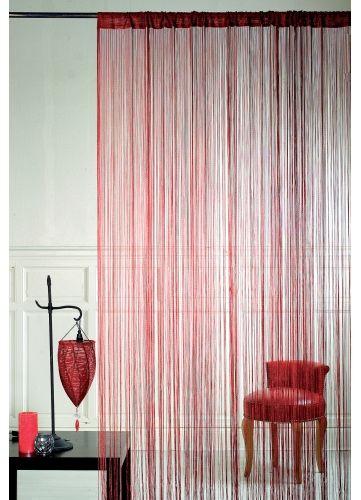 Rideau à fils Spaghetti prêt à poser, Home Maison #rideaux   Mon ...