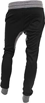 ddc45e215dc Hat and Beyond Casual Fleece Jogger Pants Active Elastic Urban Biker Slim  Fit (X-