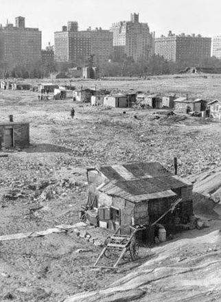 Shanty Towns Great Depression