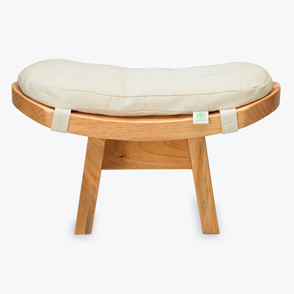 Specifications This Curved Meditation Bench Is Made From Sustainable Poplar With An Eco Friendly Clear Finish Curved At The Ideal Angl Stul Interer Meditaciya