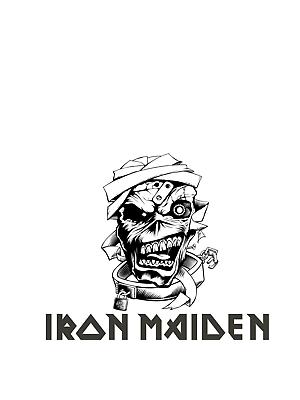 Iron Maiden Svg : maiden, MAIDEN', Vinyl, Sticker, Decal, Track, #fashion, #home, #garden, #homedcor, #decalsstickersvi…, Maiden, Band,, Sticker,