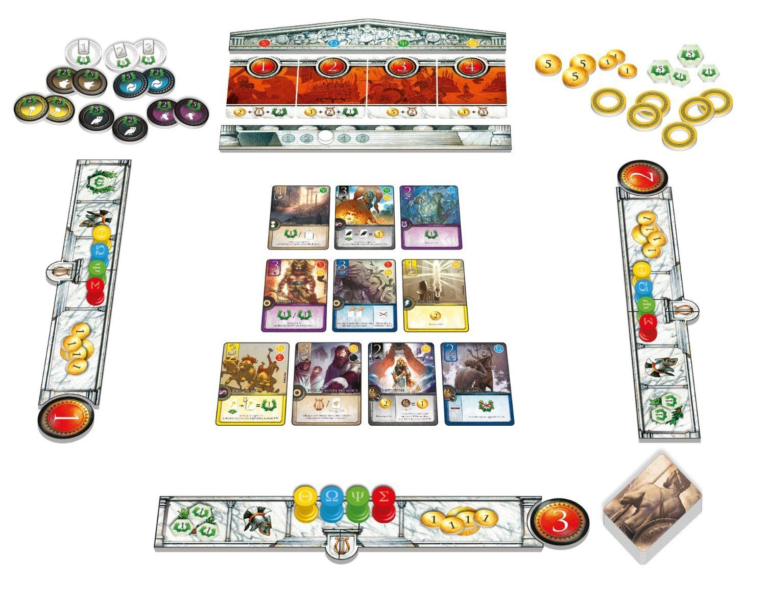 Elysium Board Game Board games, Games, Card games