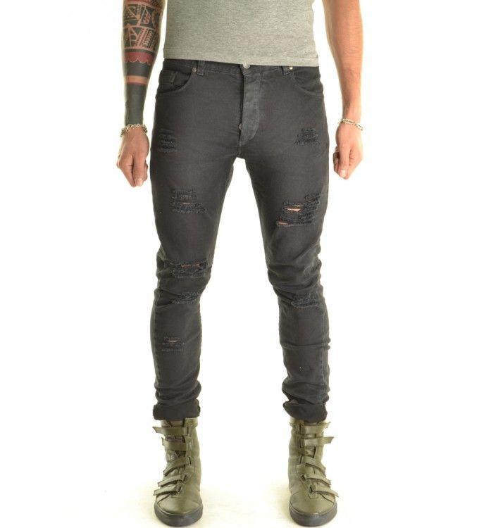 SPAMAX1 Jeans Stretch Skinny - District 75 - xagon man