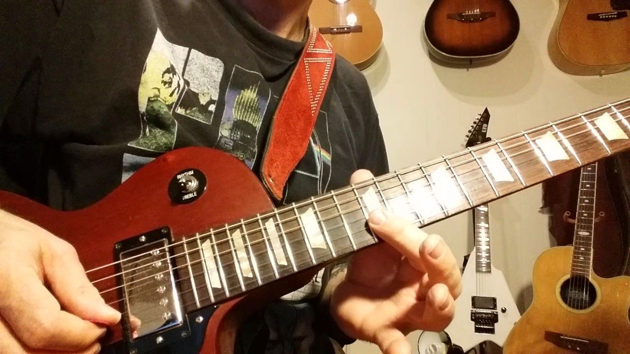 Rock Guitar Solo Basics EASY Riffs Guitar Lessons In HD - Musical history guitar solo