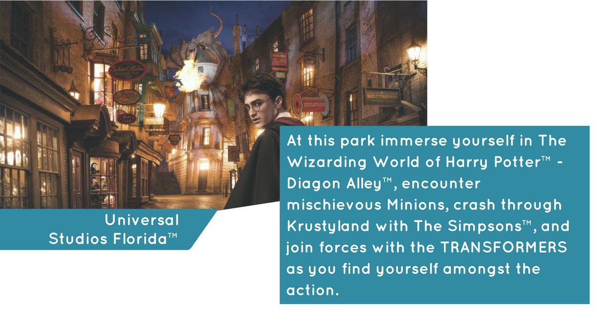 Experience Universal Studios Florida