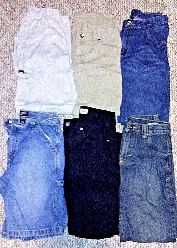 285f5805d Lot of 6 Youth Boys Clothes Back to School Size 12 Jeans Shorts ...