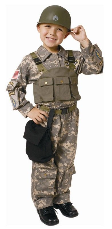 Child/'s Desert Army Outfit Costume