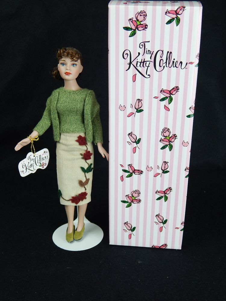 """pattern for 10/"""" Tiny Kitty Collier by Tonner A Day of Shopping"""