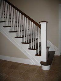 Lacasse: Wood Box Newels For Interior Railings.