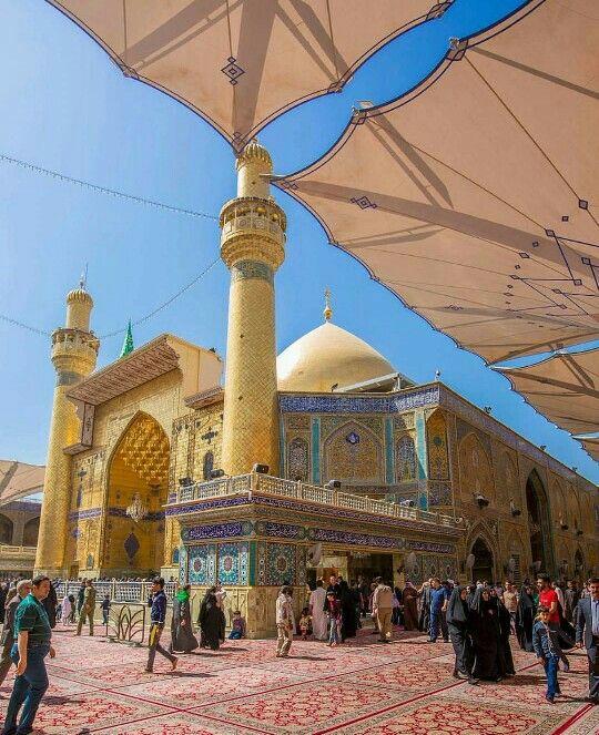 Maula Ali Shrine Wallpaper: Haram E Imam Ali AS Najaf E Ashraf Iraq