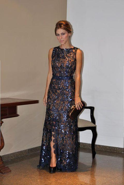 143f76259 vestidos bordados de festa para senhoras de 50 anos | Renilda ...