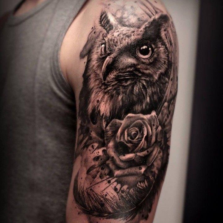 10802529 732771400139819 836821715 N 2xw7x6t5n4amwd0rfukb9c Jpg 720 720 Owl Tattoo Mens Owl Tattoo Animal Tattoos