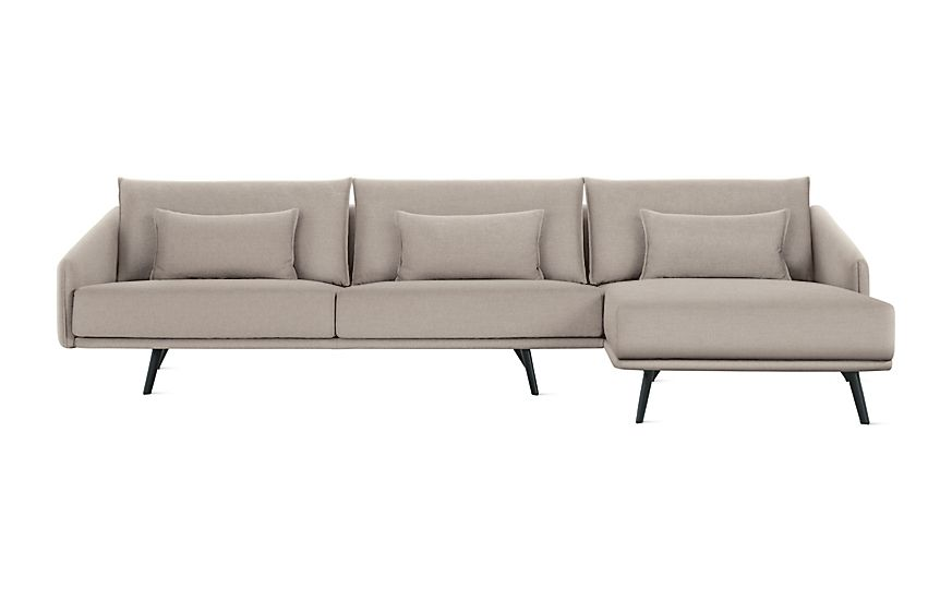 Costura Sectional With Chaise Sectional Chaise Modern Sofa Sofa