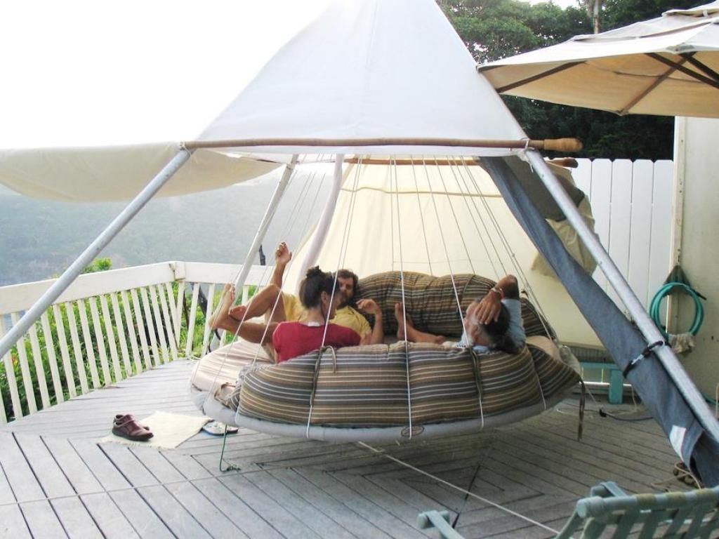 Outdoor hanging beds for sale - Sunbed Patio With Large Capacity And The Strong Hanging Bed For Three Capacity People Find Interactive