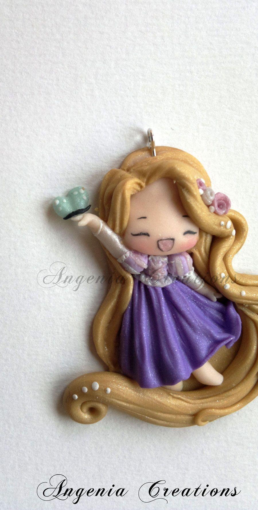 Rapunzel Detail by AngeniaC.deviantart.com on @deviantART