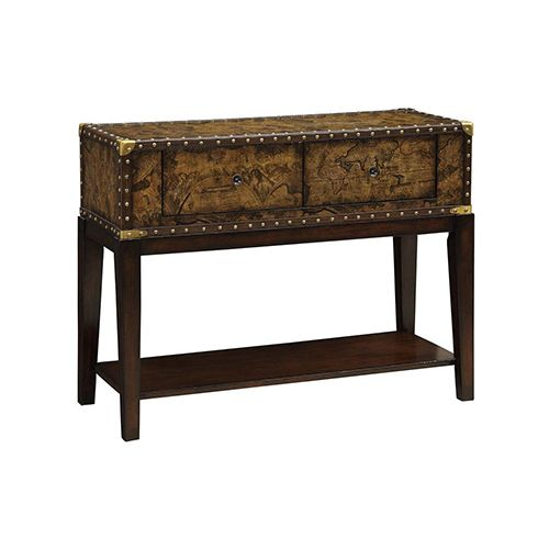 Console Table Entryway Storage, Old World Imports Furniture