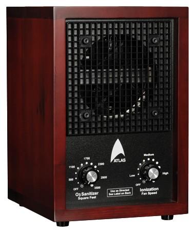 Atlas 300A Ionic Air Purifier Ozone Ionizer Breezer
