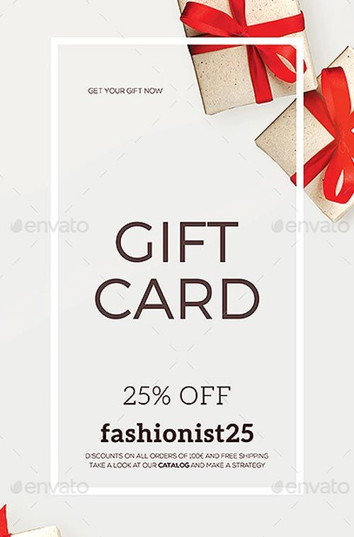 Special Coupon Gift Card Flyer Template  HttpFfflyerCom
