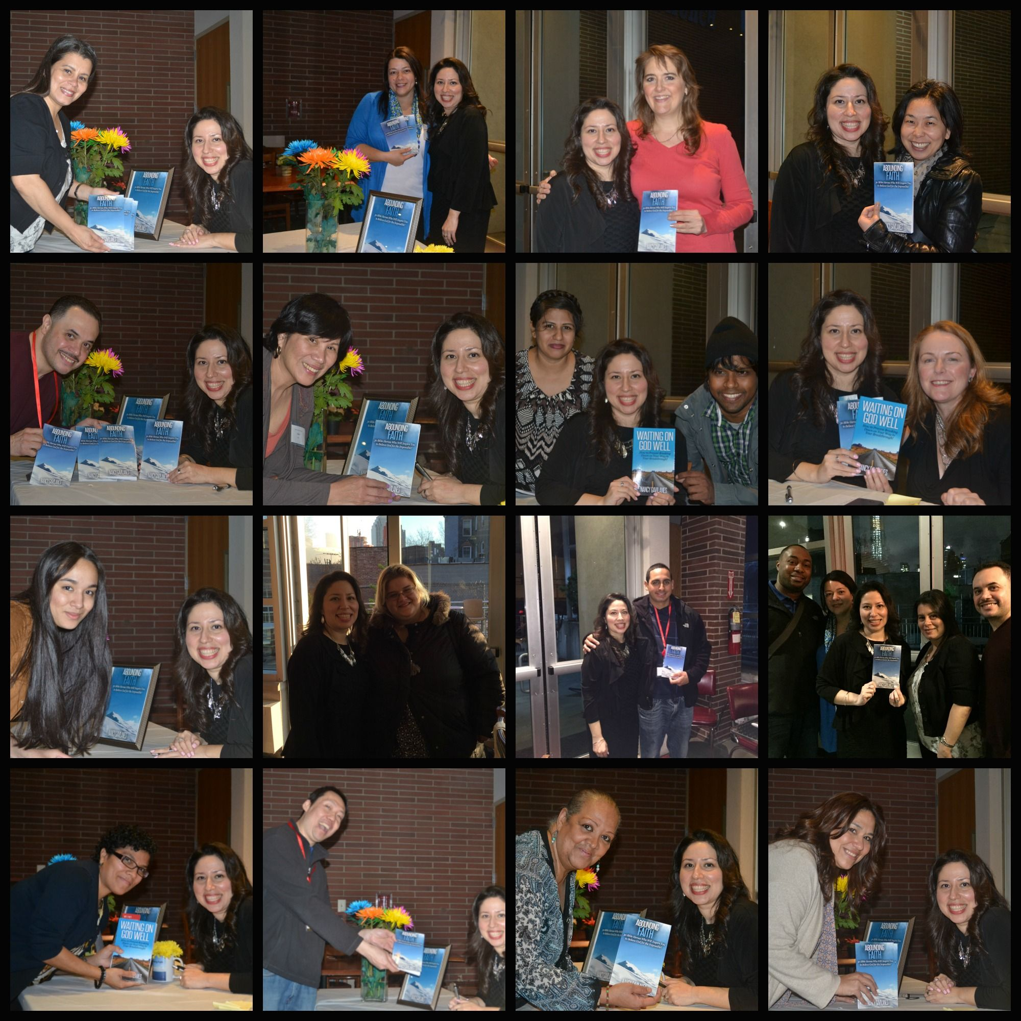 Look at all these smiling faces? Love it! You can read more reflections and