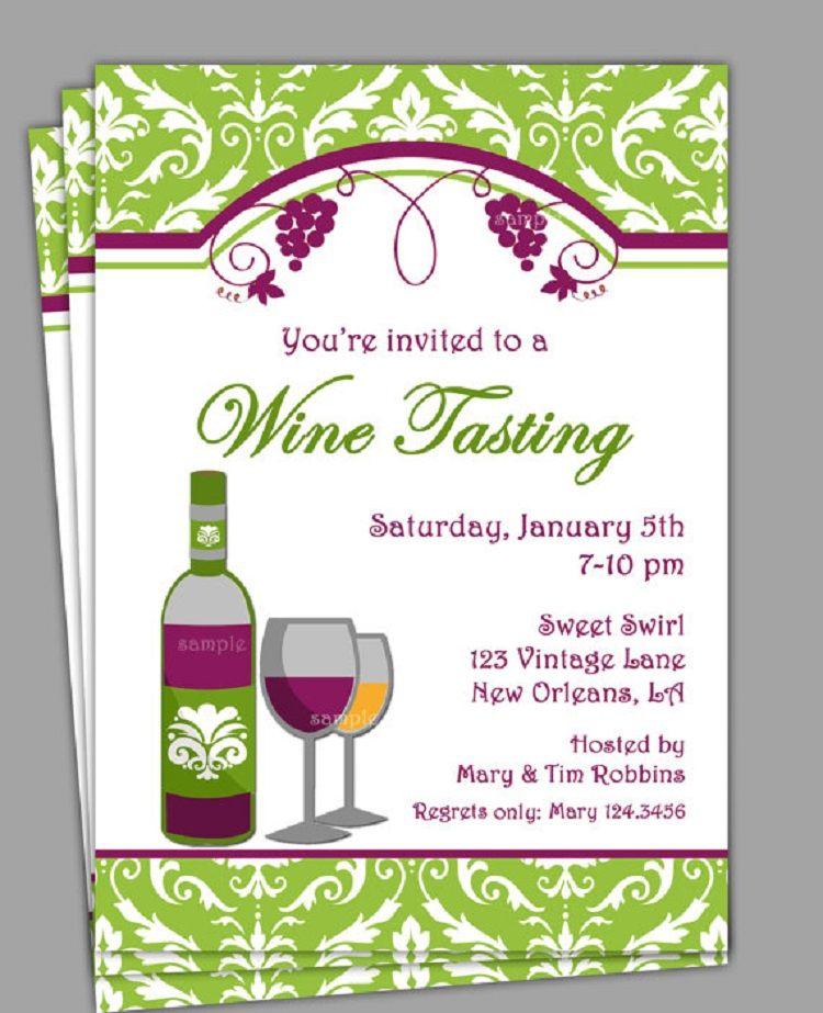 Wine Tasting Bridal Shower Invitation Wording Invitation Ideas
