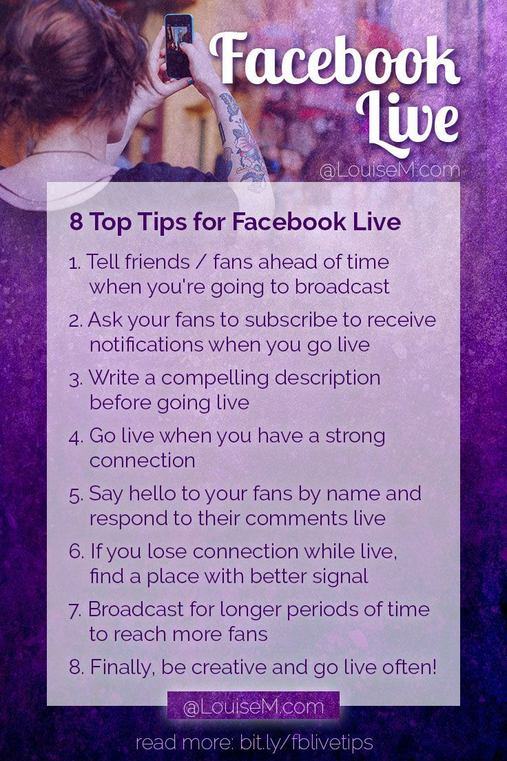 8 Facebook Live Tips How to Succeed on Facebook Now