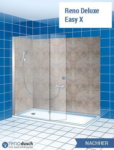 System Wanne zur Dusche, Badewanne raus Dusche rein