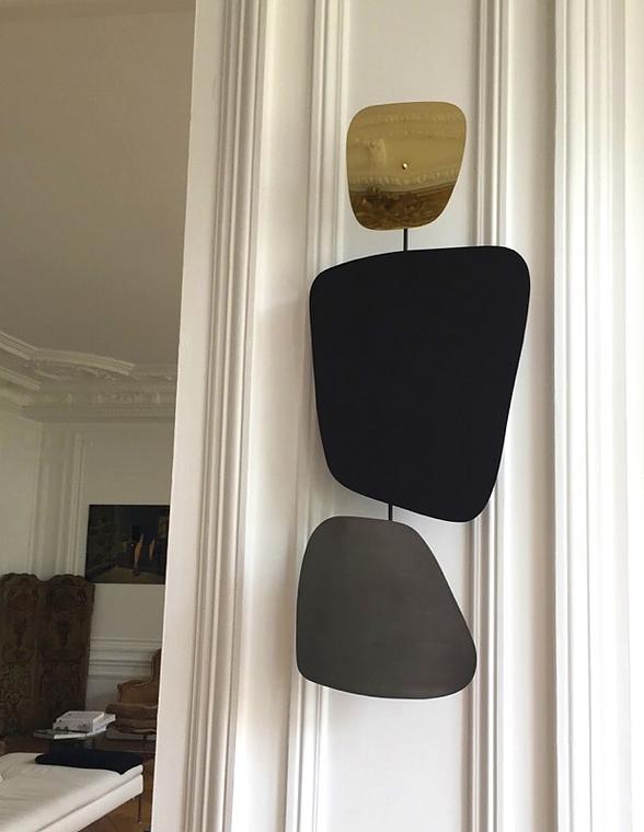 Christophe Lebrun iron05 Applique Murale métal et laiton