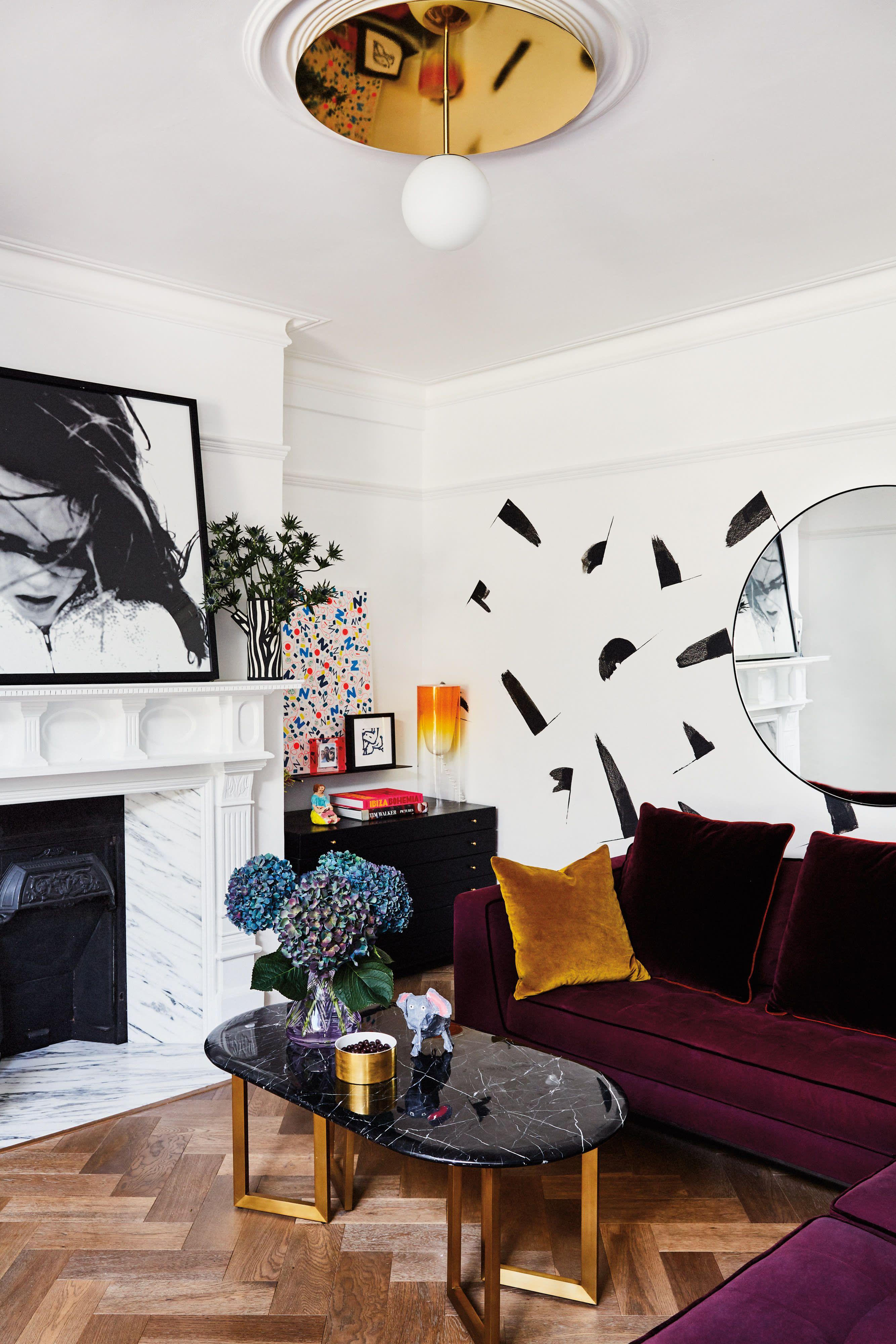 Designer Jo Sampson S Eclectic London Home Tour Minimalist Living Room Decor Living Room Decor Home Decor