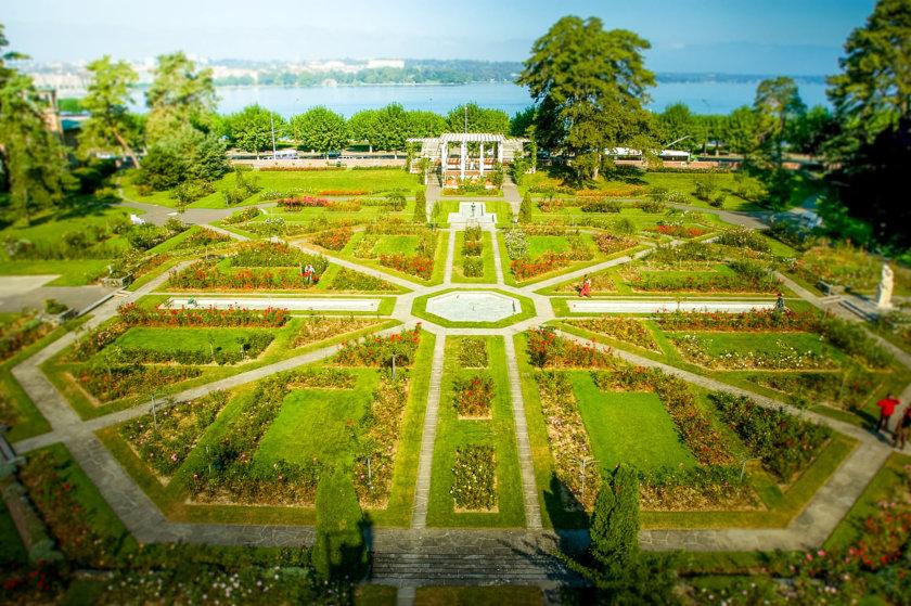 Jardín de rosas del Parc de la Grange en 2020 | Viaje a suiza ...