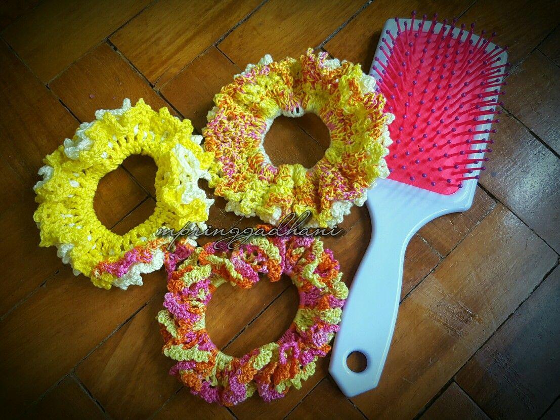 3 Yellow Shades Crunchies by MPringgadhani