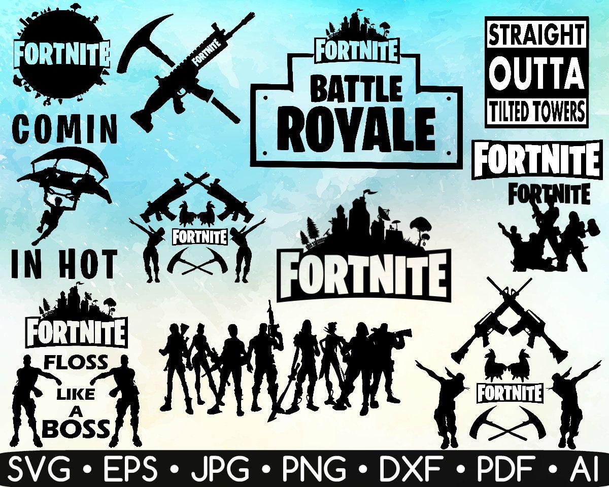 12 Fortnite Best Picks SVG Fortnite Vector Fortnite Etsy