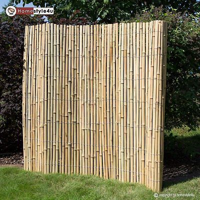 Bamboo Fence Privacy Protection Fence Bamboo Mat Garden