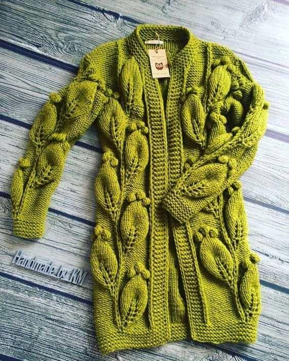 Для тех, кто вяжет: идеи модных фасоны свитеров для ...