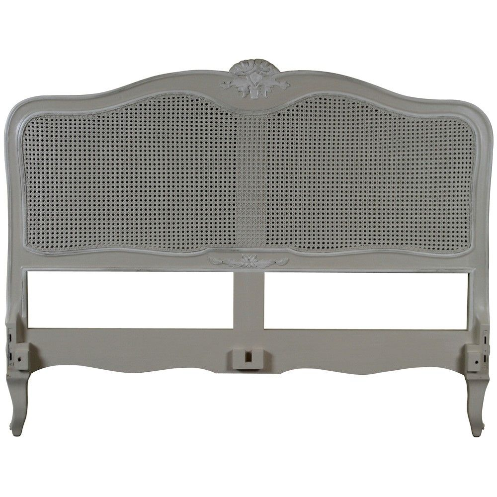 Louis French Rattan Headboard