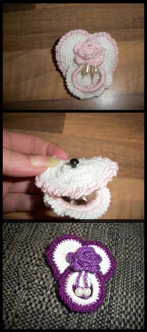 Crochet Dummy Pacifier Free Pattern Reborn Doll Cozies In 2018