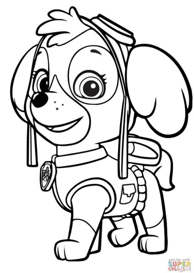 Paw Patrol Coloring Pages 8211 Printable Coloring Pages In 2020 Paw Patrol Coloring Paw Patrol Coloring Pages Puppy Coloring Pages