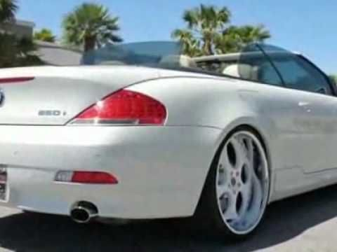 2006 Bmw 6 Series 650i Convertible Convertible Youtube Bmw 6