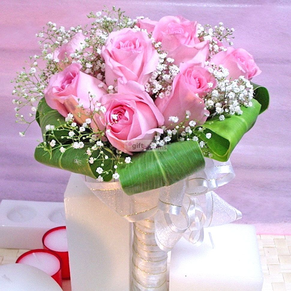 12 Pink Roses.. for Saudi arabia 549.99 (With images