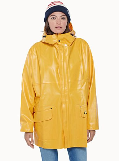 Rosbras waxed raincoat | Rain wear, Rainwear fashion, Trench