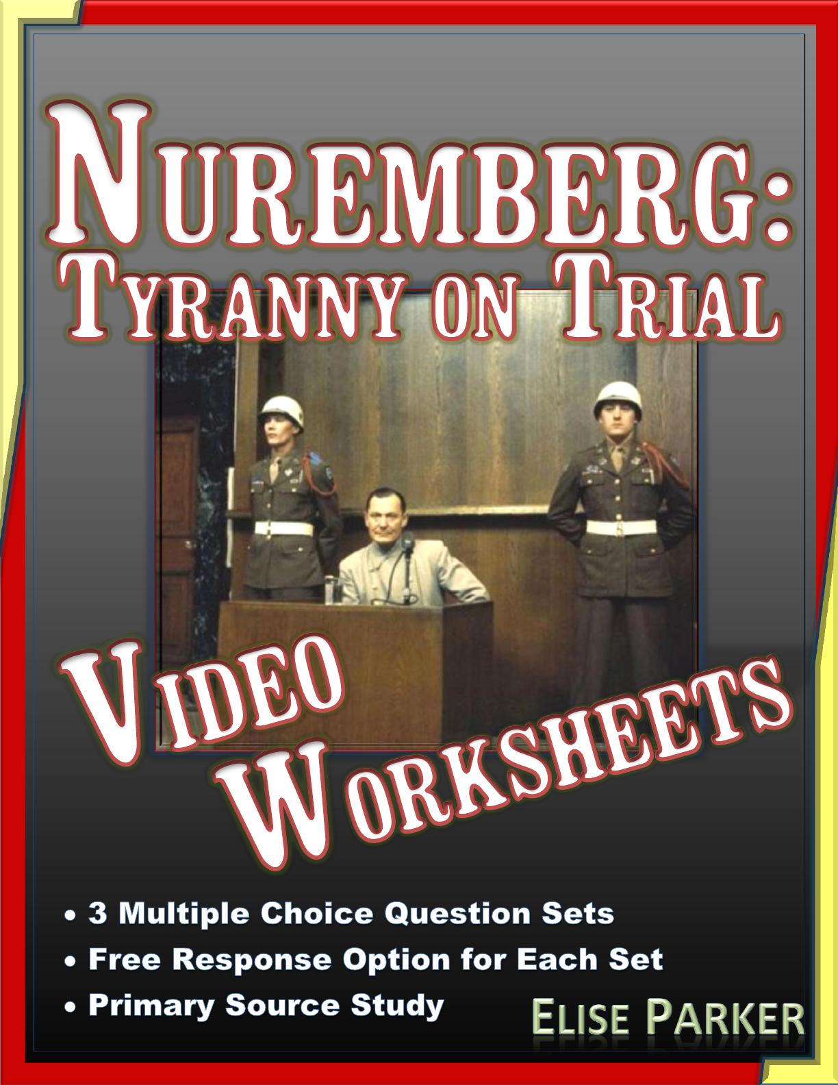Nuremberg Tyranny On Trial Video Worksheets And Primary